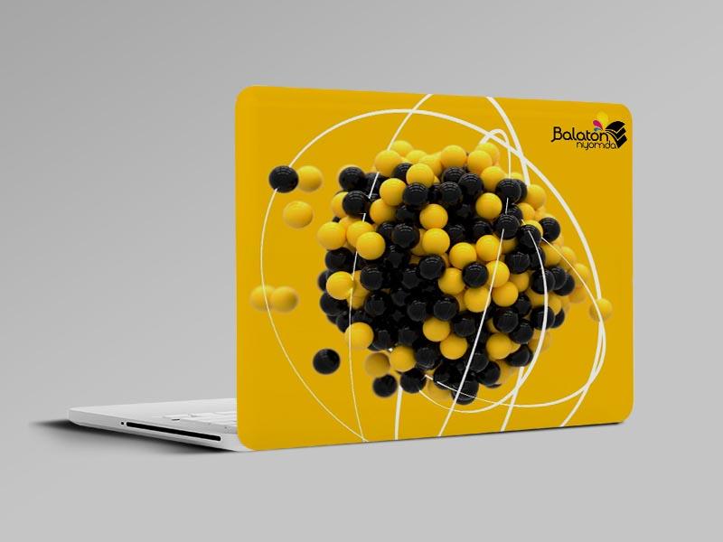 Laptop fedél