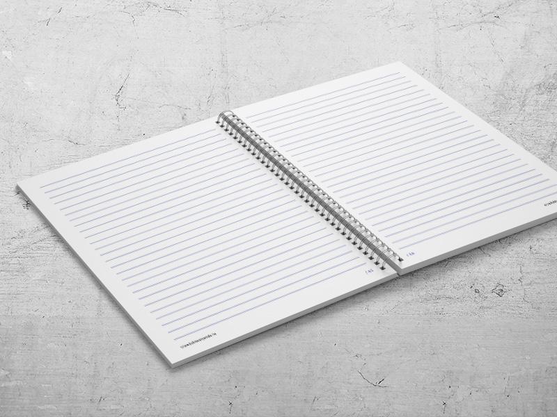 Jegyzetfüzet készítés